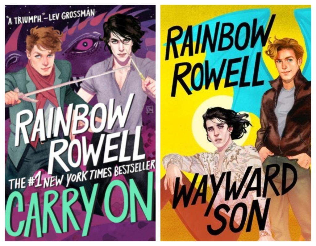 Carry On and Wayward Son by Rainbow Rowell – Book Love Blog